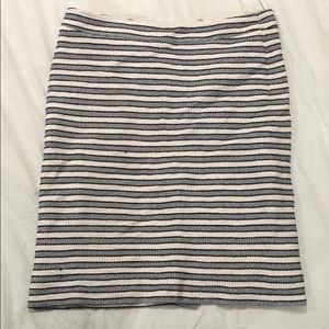 Jcrew pencil skirt polyester lining